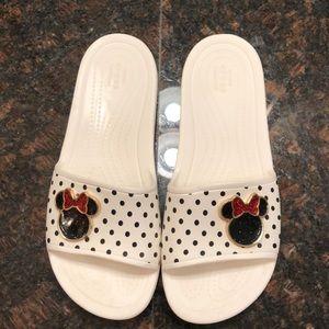 Crocs Minnie Mouse slides